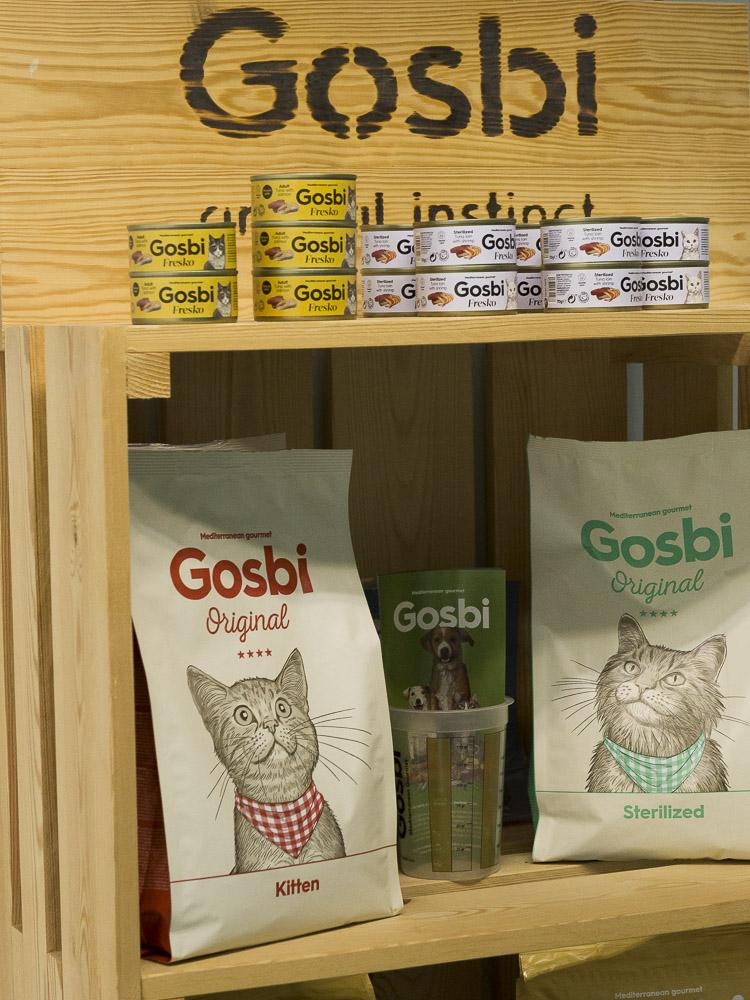 Pienso para gatos mascotas Gosbi